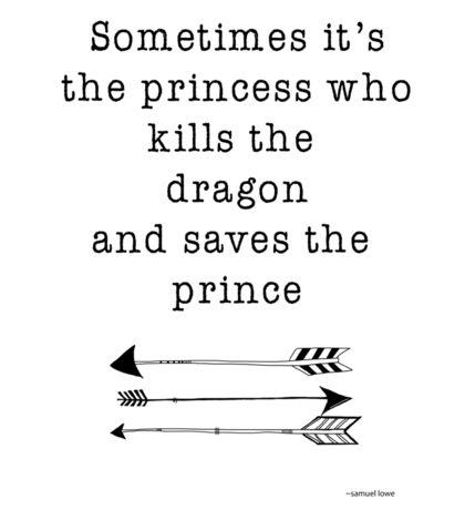 Dragon Slayer - Princess hero Sticker