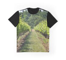 Vineyard Path Graphic T-Shirt