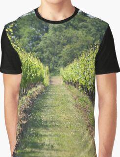 Vineyard Path Graphic T-Shirt