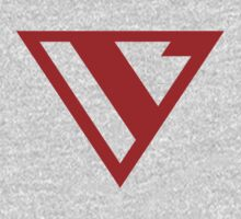 Alternative Logo Minimal Red Baby Tee