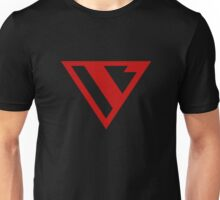 Alternative Logo Minimal Red Unisex T-Shirt