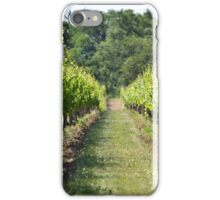 Vineyard Path iPhone Case/Skin
