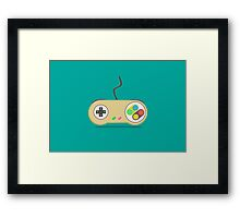 Game Controller - Devices Framed Print
