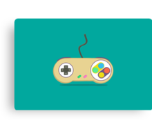 Game Controller - Devices Canvas Print