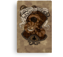 Clockwork Wonderland - Cheshire Cat Canvas Print