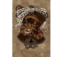Clockwork Wonderland - Cheshire Cat Photographic Print