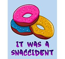 It was a snaccident Photographic Print