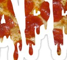 kappa melting pizza Sticker