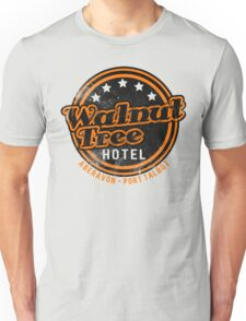 Walnut Tree Hotel - Retro Design Unisex T-Shirt