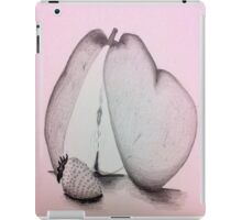 A Strawberry and a Pear iPad Case/Skin