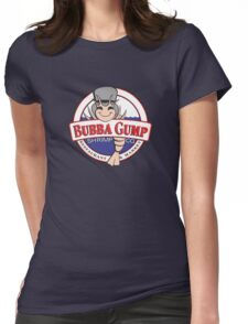 The Bubba Gump Shrim Womens Fitted T-Shirt