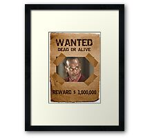 Buffy Mr Trick Wanted Framed Print