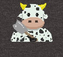 Pixel Cow Chop Unisex T-Shirt