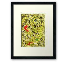 RAYCLEST 6 Framed Print