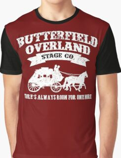 BUTTERFIELD OVERLAND STAGE CO. Graphic T-Shirt