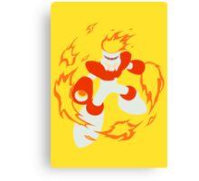 Fire Man Canvas Print