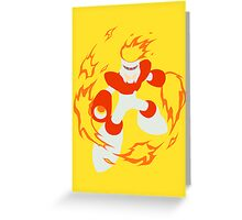 Fire Man Greeting Card