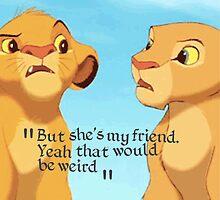 Simba and Nala  by krystel04