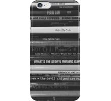 Vinyl Collection Black and White iPhone Case/Skin