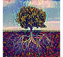 Abstract Tree of Life Photographic Print