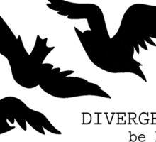 Divergent Tattoo Sticker