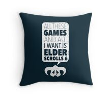 Over-Encumbered By Choice Throw Pillow