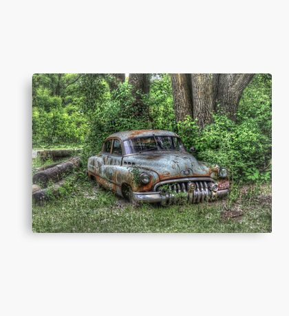 Woodland Cruiser Canvas Print