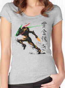 Samus Aran Women's Fitted Scoop T-Shirt