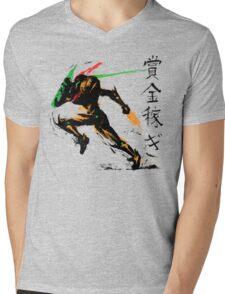 Samus Aran Mens V-Neck T-Shirt