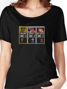 Streets of Rage - Adam Women's Relaxed Fit T-Shirt