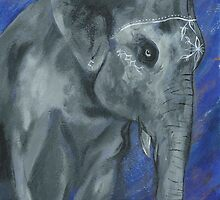 Painted Elephant - Matriarch by KoreanRussell
