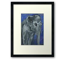 Painted Elephant - Matriarch Framed Print