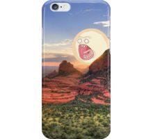 Screaming Sun Sedona. iPhone Case/Skin