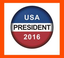 Vote Button President Kids Tee