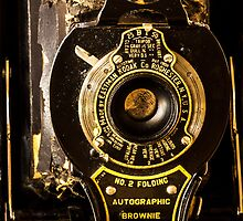 Kodak No. 2 Folding Autographic Brownie by Splendiferous Images