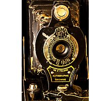 Kodak No. 2 Folding Autographic Brownie Photographic Print