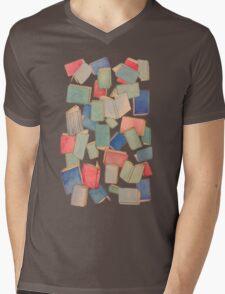 Showers of Books Mens V-Neck T-Shirt