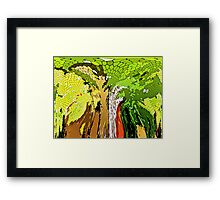 The Story of a Tree Framed Print
