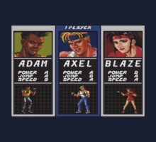 Streets of Rage - Axel One Piece - Short Sleeve