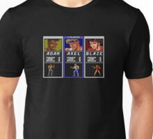 Streets of Rage - Axel Unisex T-Shirt
