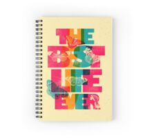 THE BEST LIFE EVER (BUTTERFLIES) Spiral Notebook