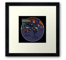 Escape Raccoon City Framed Print