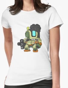 Bastion Graphic Womens Fitted T-Shirt