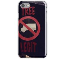 TREE LEGIT CAREGIVERS iPhone Case/Skin