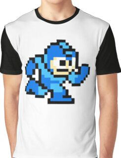 Mega Man Running Graphic T-Shirt