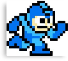 Mega Man Running Canvas Print