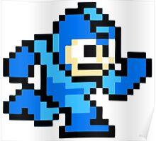 Mega Man Running Poster