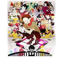 The Tatami Galaxy Characters Artwork Poster
