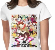 The Tatami Galaxy Characters Artwork Womens Fitted T-Shirt