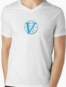 Venture Industries logo Mens V-Neck T-Shirt